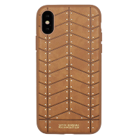 Чехол Santa Barbara Polo & Racquet Club Armor для iPhone X Коричневый